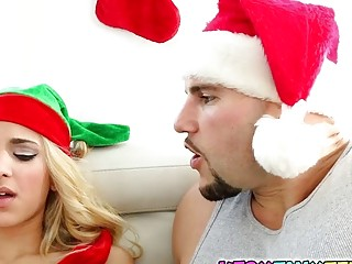 Sweet horny elf Uma Jolie needs to fuck for hungry pussy