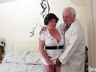 AgedLovE Busty Nurse Hardcore with Nasty Doctor