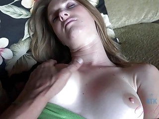 Girlfriend fucked while on vacation from every angle in POV