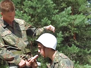 Action free gay man military porn