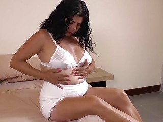 LatinChili Mature Chick Lucia Playing With Her Pussy and Toys